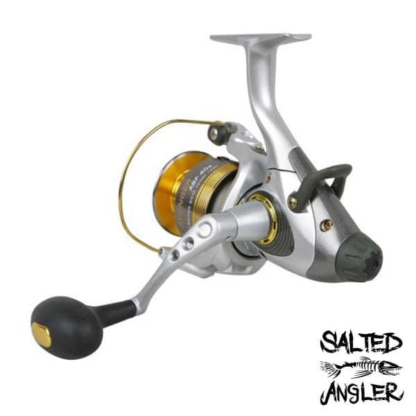 Okuma avenger reel left bottom salted angler for Bottom fishing reels